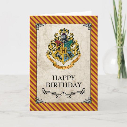 Top Harry Potter | Gelukkige Verjaardag Hogwarts Kaart | Zazzle.be @AY04