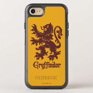 Harry Potter | Grafische Leeuw Gryffindor OtterBox Symmetry iPhone 8/7 Hoesje