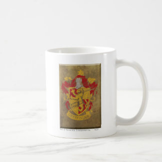 Harry Potter | Gryffindor - rétro crête de Chambre Mug Blanc