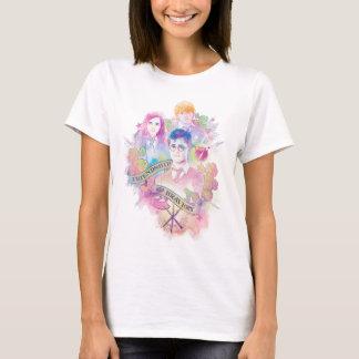 Harry Potter | Harry, Hermione, et aquarelle de T-shirt
