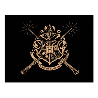 Harry Potter   Hogwarts Gekruist CREST van Briefkaart