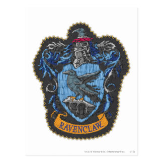 Harry Potter | Klassiek CREST Ravenclaw Briefkaart