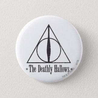 Harry Potter | le de mort sanctifie l'emblème Badge Rond 5 Cm