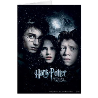 Harry Potter Movie Poster Kaart