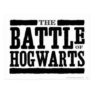 Harry Potter Spell | de Slag van Hogwarts Briefkaart