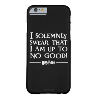 Harry Potter Spell | plechtig zweer ik Barely There iPhone 6 Hoesje