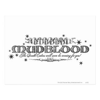 Harry Potter Spell | Vuile Mudblood Briefkaart