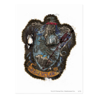 Harry Vernietigde Potter | CREST Ravenclaw - Briefkaart