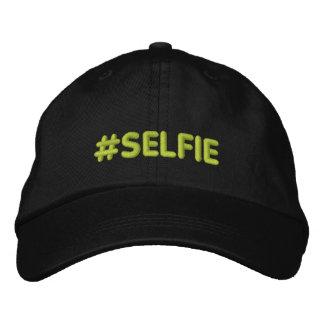 Hashtag Selfie radotant Chapeaux Brodés