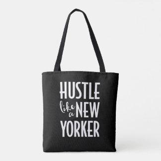 Hâte comme un sac fourre-tout à Newyorkais