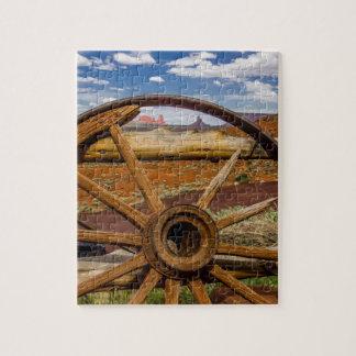 Haut étroit de roues, Arizona Puzzle