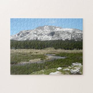Haut parc du courant I Yosemite de montagne de Puzzle