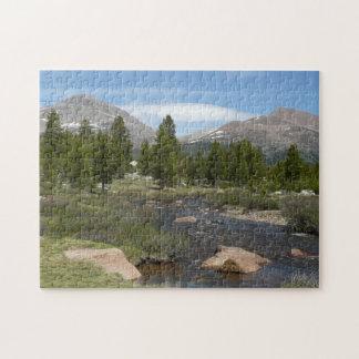 Haut parc du courant III Yosemite de montagne de Puzzle