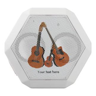 Haut-parleurs Blancs Sans-fils Basse acoustique et ukulélé de guitare espagnole