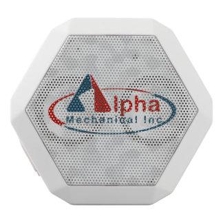 Haut-parleurs Blancs Sans-fils Votre logo fait sur commande sur la boîte blanche