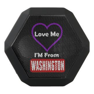 Haut-parleurs Noirs Sans-fils Aimez-moi, je suis de Washington