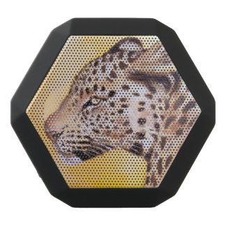 Haut-parleurs Noirs Sans-fils Art de léopard
