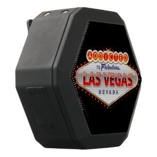Haut-parleurs Noirs Sans-fils Las Vegas, signe bienvenu drôle de nanovolt