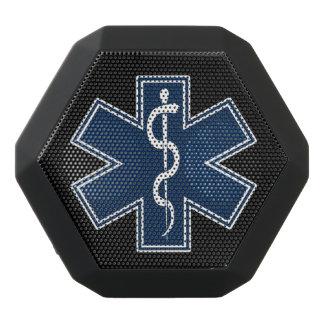 Haut-parleurs Noirs Sans-fils Logo de l'infirmier EMT SME