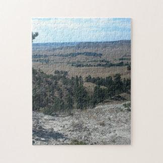 Hautes collines de désert puzzle