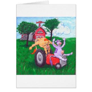Hautes vaches vives carte de vœux