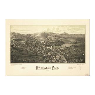 Haydenville Massachusetts (1886) Canvas Afdrukken