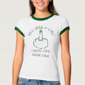 Hé, chemise de la maladie d'IDSA et de CDC Lyme T-shirt