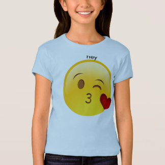 hé emoji t-shirt