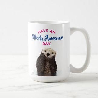 Heb een Foto van de Otter van de Geweldige Dag Koffiemok