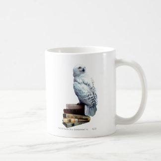 Hedwig sur des livres mug