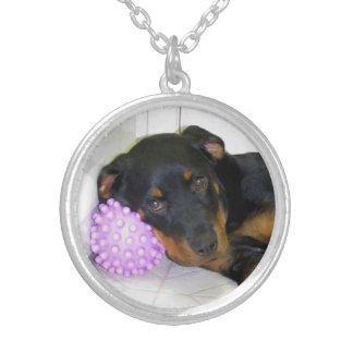 Heidi et collier somnolents de boule