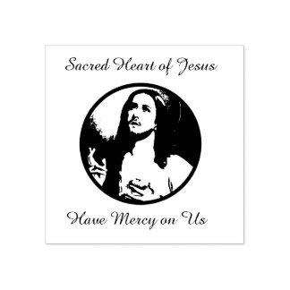 Heilig Hart van Jesus Prayer Rubberstempel