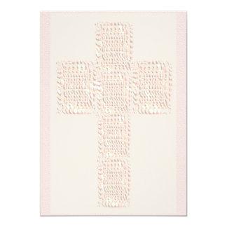 Heilige Dwars Zachte Kleuren 12,7x17,8 Uitnodiging Kaart