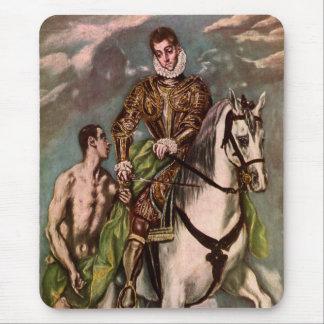 Heilige Martin van El Greco en de Bedelaar, circa Muismat