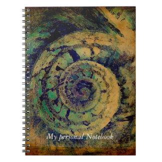 Heilige meetkunde gouden verhouding slakshell notitie boek