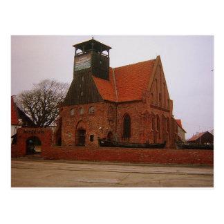 Hel Pologne de musée Carte Postale