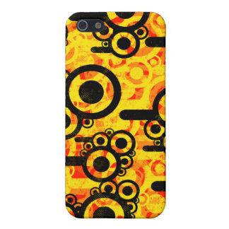Helder, oranje, en vector iPhone 5 covers