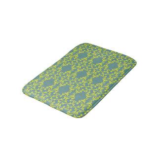 Heldere Blauwgroene Fleurish Badmat