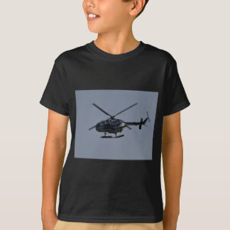 Hélicoptère de police espagnol t-shirt