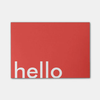 hello post-it® notes