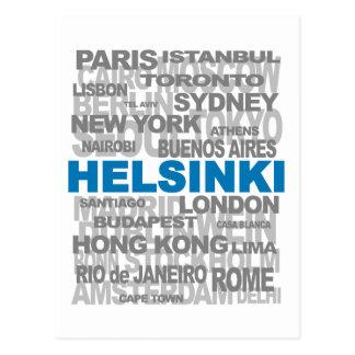 HELSINKI et toute autre carte postale de villes