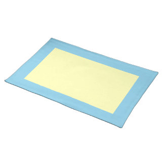 Hemel Blauwe en Lichtgeele Placemat