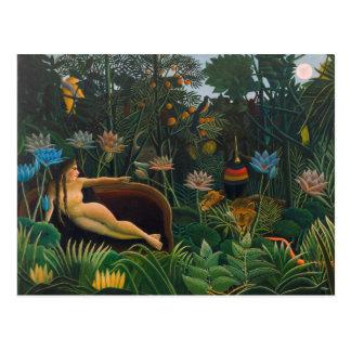 Henri Rousseau la carte postale du rêve CC0691