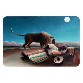 Henri Rousseau le cru gitan de sommeil Magnet Flexible