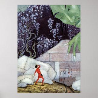 Henry et le géant par la Virginie Frances Sterrett Poster