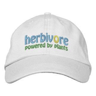 Herbivore balpet geborduurde pet