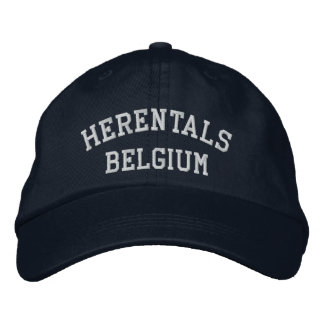 Herentals Belgique Casquette Brodée