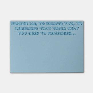 Herinner u eraan de Nota's van de Post-it Post-it® Notes