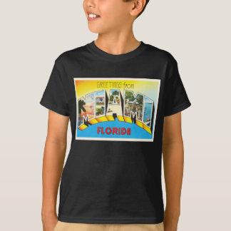 Herinnering van de Reis van Miami Florida FL de T Shirt