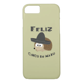 Hérisson de Feliz Cinco De Mayo Coque iPhone 7